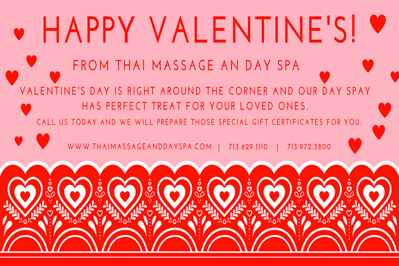 Valentines day special offers!